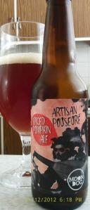 Artisan Pouseure Spiced Pumpkin Ale