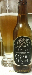 Organic Pilsner (Prickly Moses)