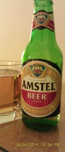 Amstel Lager (bottle)